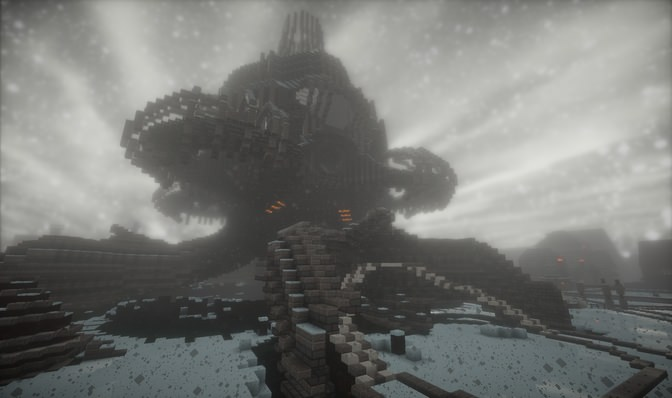 Winter in BigCraft